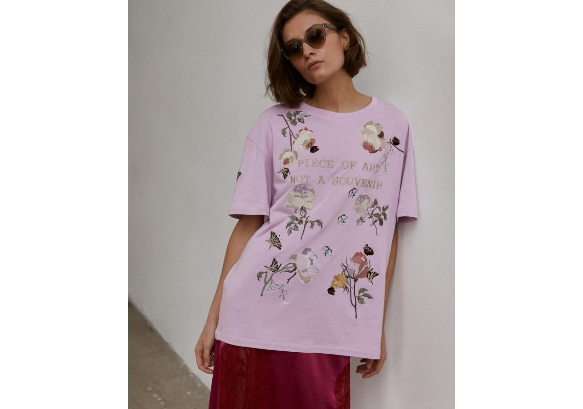 Lavander oversized t-shirt