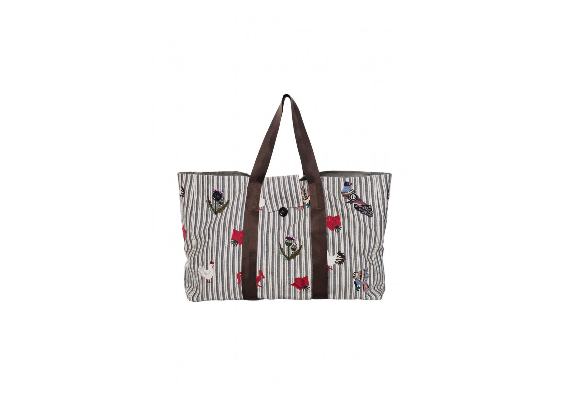 Embroidered Big Bag (Out Of Stock)