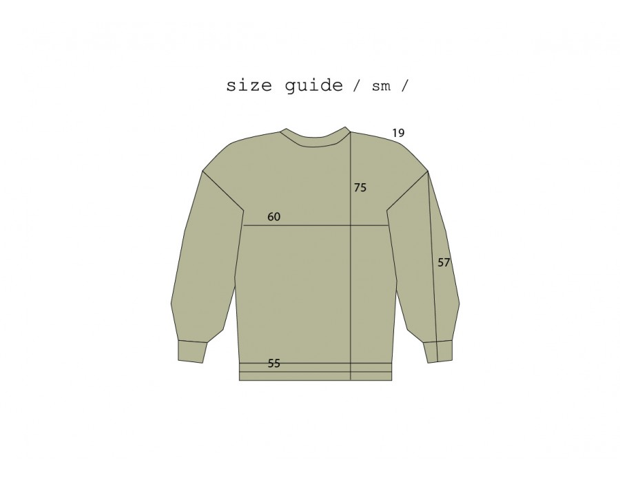 Embroidered Oversized Sweatshirt (Out Of Stock)