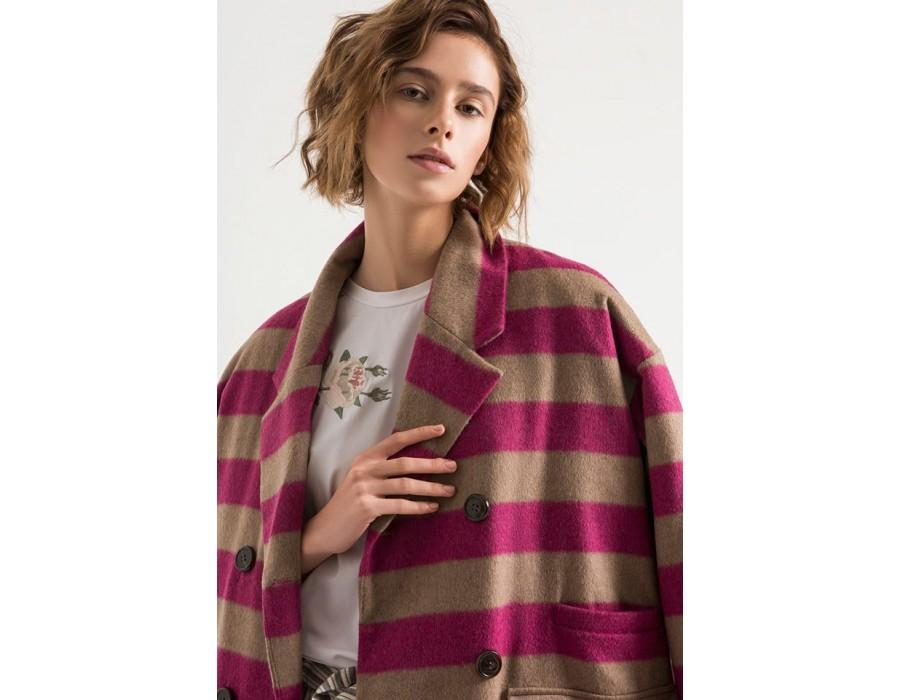 Ozersized wool coat